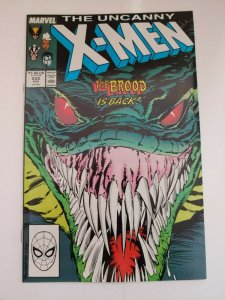 Uncanny X-Men #232 (1988) The Brood is Back! Copper Age NM