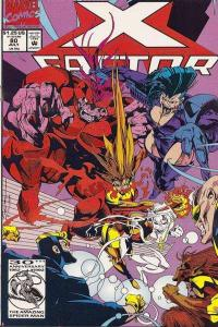 X-Factor (1986 series) #80, VF- (Stock photo)