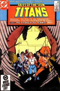 Tales of the Teen Titans #53, VF+ (Stock photo)