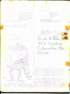 Countdown #2 1960's-Dr Mid-Nite-Hawkman-Biljo White-superhero fanzine-VG