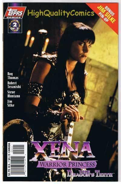 XENA WARRIOR PRINCESS Dragon 2, NM+, Lucy Lawless, 1997, more in store