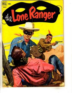 The Lone Ranger # 46 FN Dell Golden Age Comic Book 1952 Western Tonto JL3