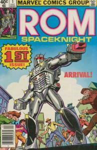 ROM  10-Different Comics, Toy Tie In!, Instant Gift -