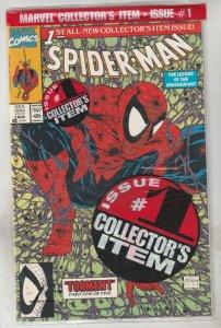 Spider-Man Bagged #1 (Aug-90) NM/MT Super-High-Grade Spider-Man