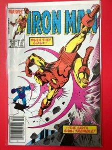 IRON MAN V1 #187 1983 MARVEL / NEWSSTAND / MID-GRADE QUALITY+