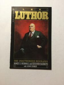 Lex Luthor Unauthorized Biography 1 NM Near Mint