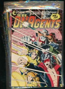 Eclipse Large Set!! THE NEW DNAgents #1-13  F/VF (PF860)
