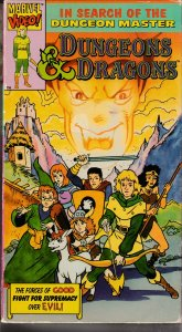 Dungeons and Dragons VHS