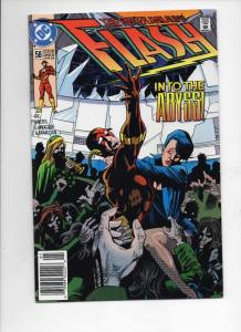 FLASH #58, VF/NM, Loebs, LaRocque, 1987 1992, more DC in store