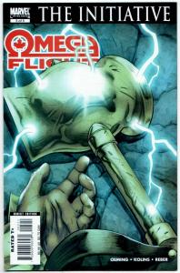 Omega Flight #5 (Marvel, 2007) VF
