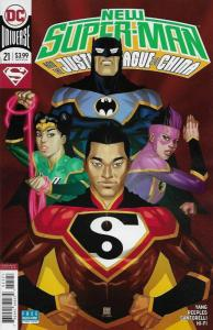 New Super-Man and the Justice League of China #21 Variant Cvr (DC, 2018) NM