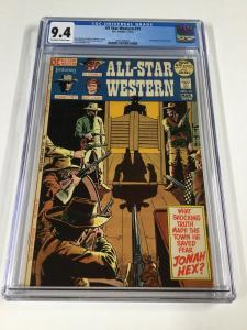 All-star Western 10 Cgc 9.4 Ow/w Pages 1st First Jonah Hex Dc Comics