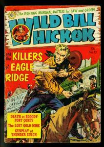 Wild Bill Hickok #12 1952- Simon Girty- Avon Western- G