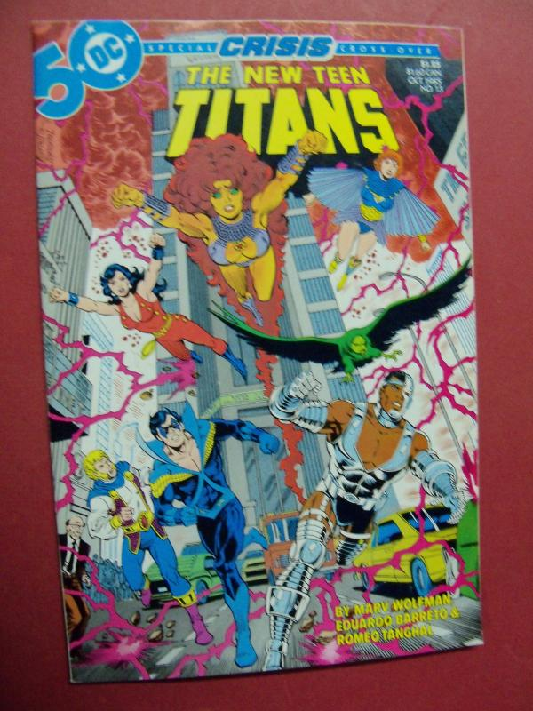 THE NEW TEEN TITANS  #13 VF/NM OR BETTER 1983 DC COMICS