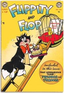 FLIPPITY AND FLOP #1 (Dec 1951) 7.0 FN/VF Cat-Dog-Canary Funny Animal HiJinx!