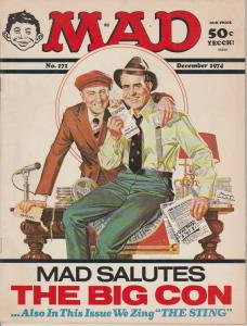 MAD MAGAZINE #172 - HUMOR COMIC MAGAZINE - RICHARD NIXON COVER