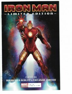Iron Man Limited Edition #1 FN Augmented Reality & Exclusive Content #2563/7500