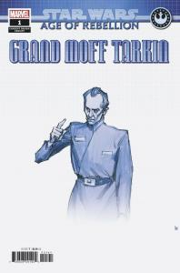 Star Wars AOR Grand Moff Tarkin #1 Concept Variant (Marvel, 2019) NM