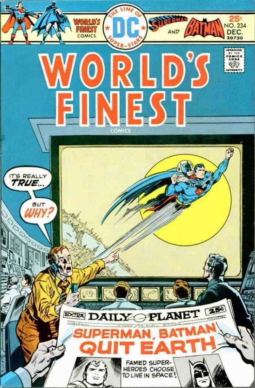 World's Finest Comics #234 VF; DC | save on shipping - details inside