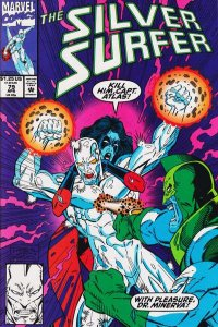 Silver Surfer (1987 series) #79, NM (Stock photo)
