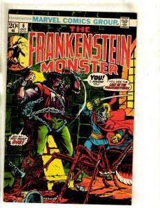 Monster Of Frankenstein # 6 VF/NM Marvel Comic Book Mike Ploog Cover Horror RS1