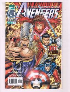 The Avengers #1 VF Marvel Comics Comic Book Captain America 1996 DE15