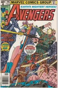 Avengers, The #195 (May-80) NM- High-Grade Avengers