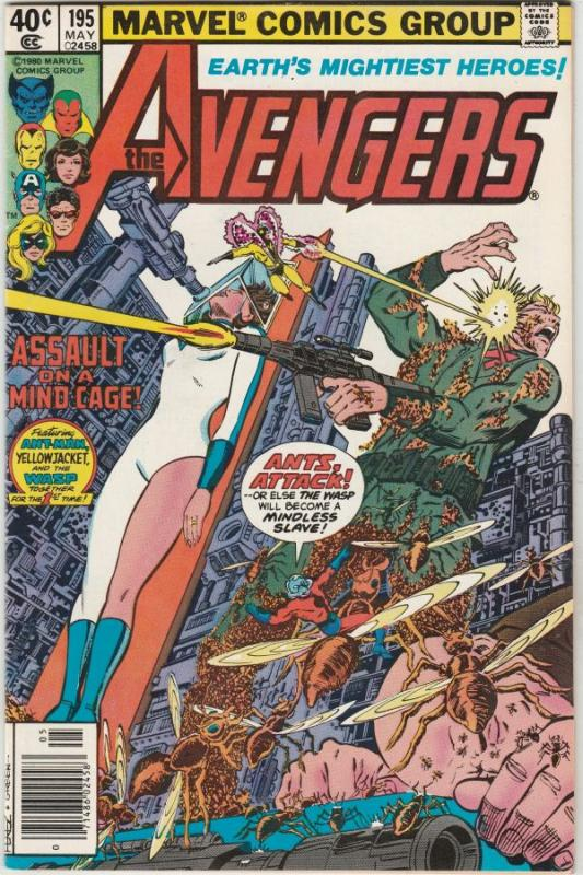 Avengers, The #195 (May-80) NM- High-Grade Avengers