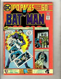 Batman # 260 VF DC Comic Book Robin Joker Catwoman Gotham Penguin Ivy GK1