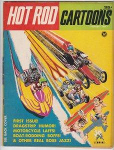 Hot Rod Cartoons #1 (Nov 1964) 4.0 VG Petersen