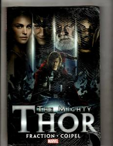The Mighty Thor Photo Cover Odin Marvel Comics HARDCOVER Graphic Novel Book J370