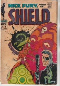 Nick Fury, Agent of SHIELD #5 (1968)