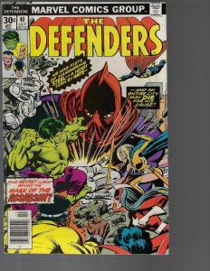 Defenders #40 (Marvel, 1976) VF-
