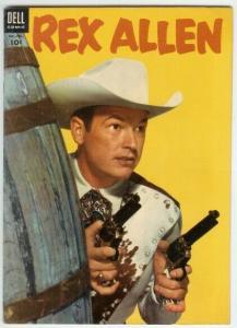 REX ALLEN ( 1951-1959 DELL) 15 F- PHOTOCOVER COMICS BOOK