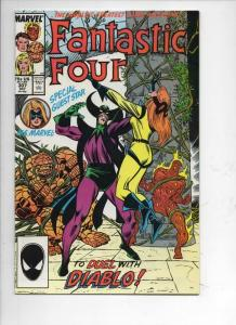 FANTASTIC FOUR #307 NM- Diablo, Buscema, 1961 1987 Marvel, more FF in store