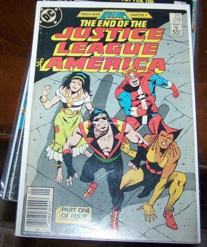 Justice League of America #258 (Jan 1987, DC)