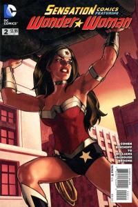 Sensation Comics featuring Wonder Woman #2, NM (Stock photo)