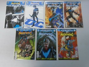 Nightwing lot 28 different from #1-33 8.0 VF (2016-18)