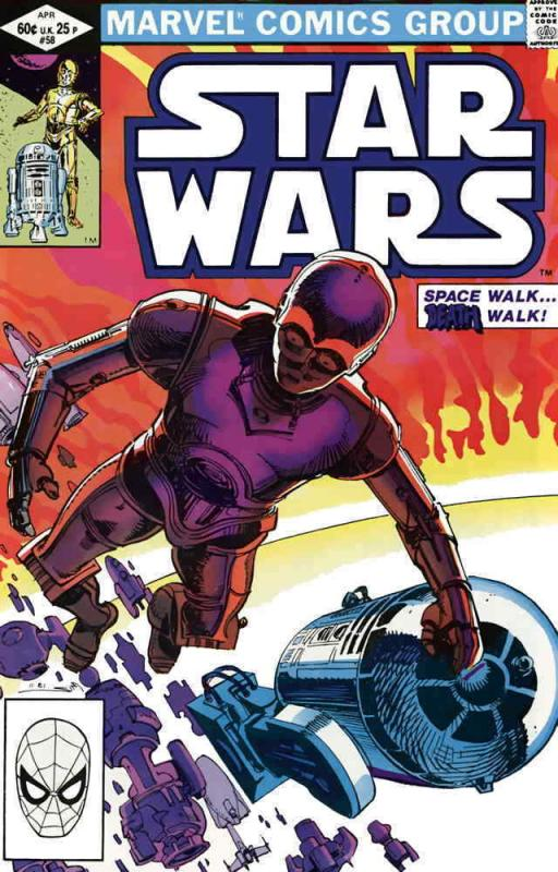 Star Wars #58 VF/NM; Marvel | save on shipping - details inside