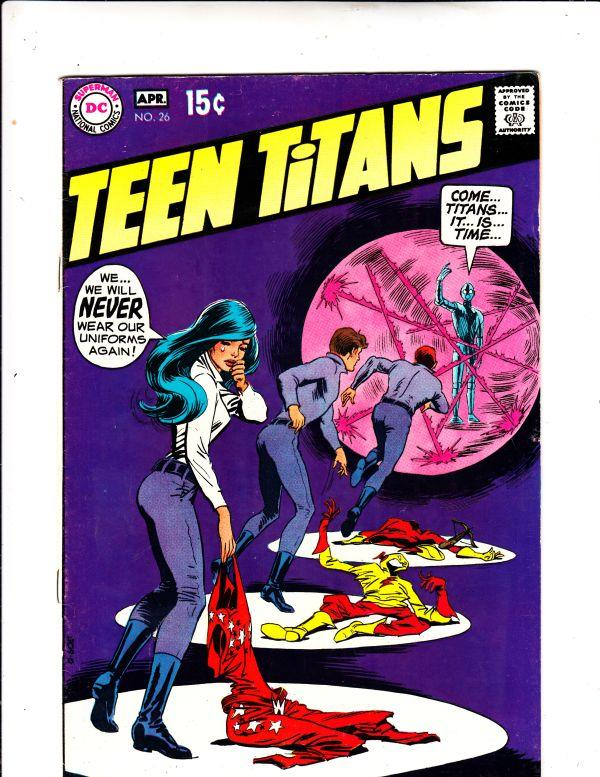 Teen Titans, The #26 (Apr-70) VF/NM- High-Grade Kid Flash, Robin, Wonder Girl...