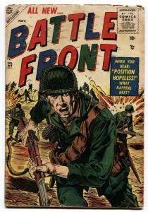 BATTLEFRONT #37-comic book 1955-WAR STORIES-SYD SHORES
