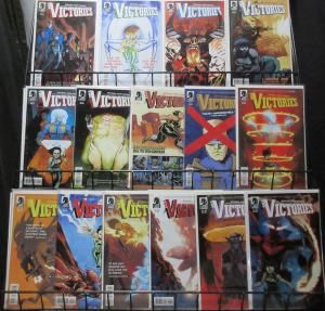 THE VICTORIES (Dark Horse, 2013) #1-15 COMPLETE! VF-NM Michael Avon Oeming