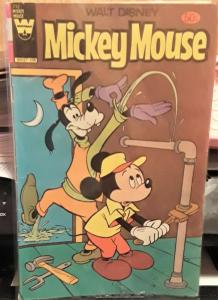 WHITMAN COMICS-WALT DISNEY-MICKEY MOUSE-#212-DATED: 1955