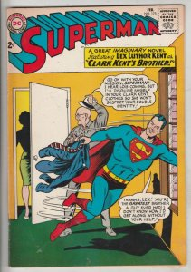 Superman #175 (Feb-65) VF High-Grade Superman, Jimmy Olsen,Lois Lane, Lana La...