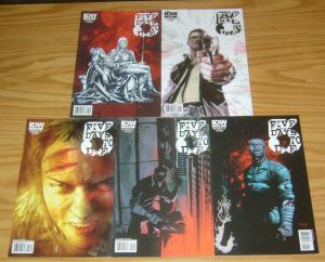 5 Days To Die #1-5 VF/NM complete series - cop drama comics set lot 2 3 4 idw