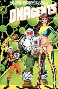 DNAgents #16 VF/NM; Eclipse | save on shipping - details inside