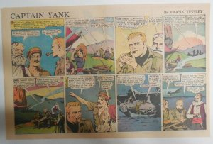 Captain Yank Sunday by Frank Tinsley from 7/25/1943 Size: 11 x 15 inches