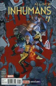 All-New Inhumans #1 VF/NM; Marvel | save on shipping - details inside