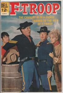 F-Troop #2 (Nov-66) VF+ High-Grade Forest Tucker, Larry Storch, Ken Berry