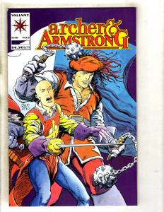 Lot Of 3 Archer & Armstrong # 8 Valiant Comic Books Super-Heroes MR5